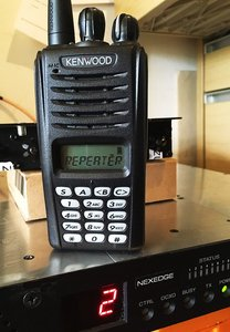 nxdn repeater and handset photo